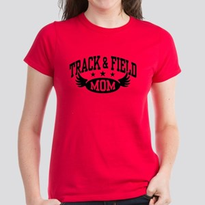 Track & Field Mom Women's Dark T-Shirt