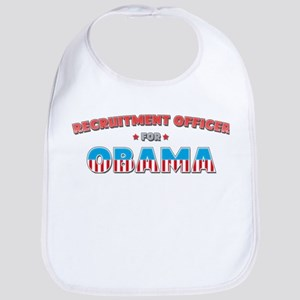 Recruitment Officer For Obama Bib