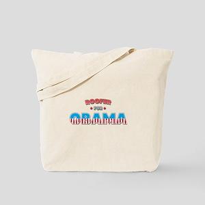 Roofer For Obama Tote Bag