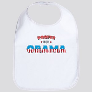 Roofer For Obama Bib