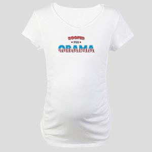 Roofer For Obama Maternity T-Shirt