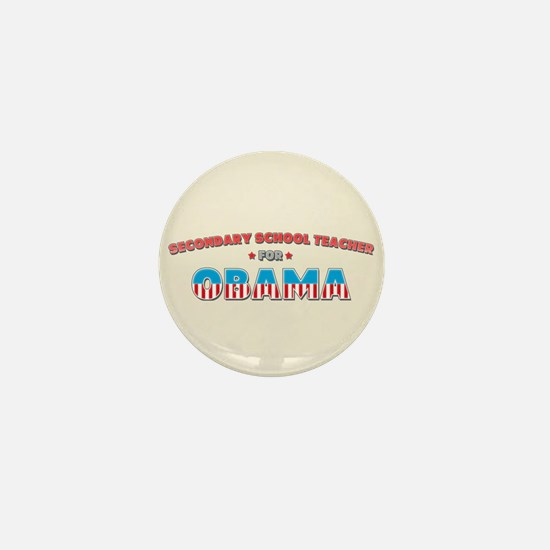 Secondary School Teacher For Mini Button