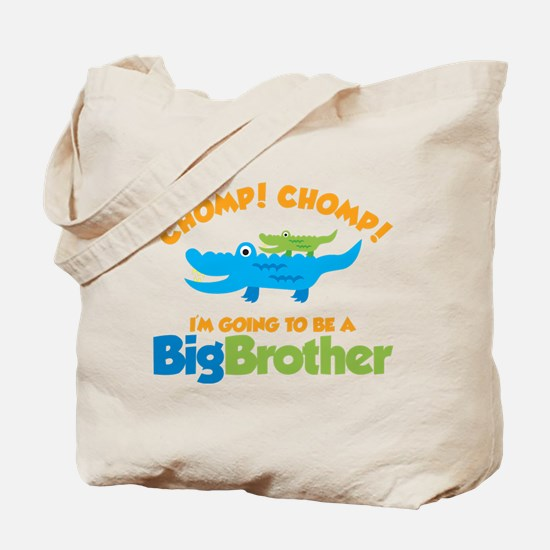 Alligator going to be a Big B Tote Bag
