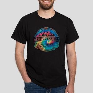Manitou Springs Old Circle Dark T-Shirt