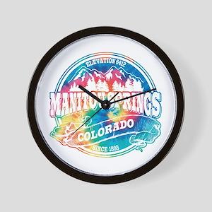 Manitou Springs Old Circle Wall Clock