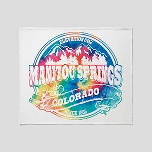 Manitou Springs Old Circle Throw Blanket