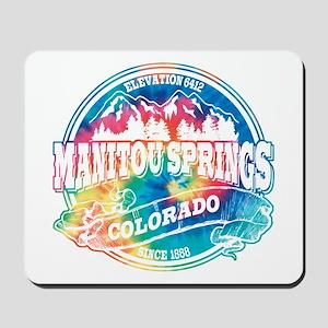 Manitou Springs Old Circle Mousepad