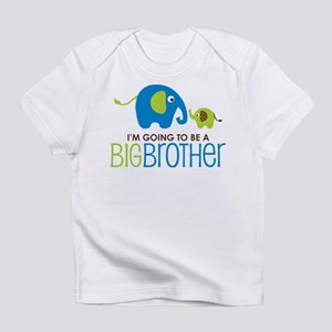 Elephant going to be a Big Brother Infant T-Shirt