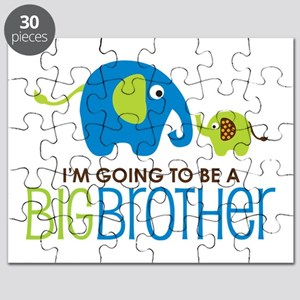 Elephant going to be a Big Brother Puzzle