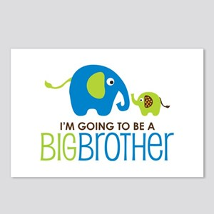Elephant going to be a Big Brother Postcards (Pack
