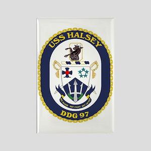 USS Halsey DDG 97 Rectangle Magnet