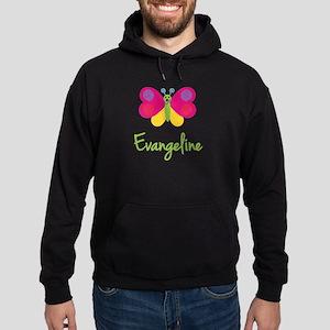 Evangeline The Butterfly Hoodie (dark)