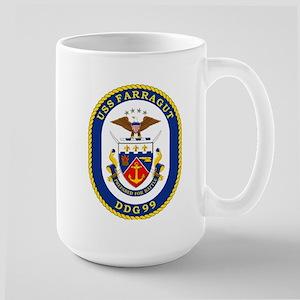 USS Farragut DDG 99 Large Mug