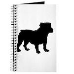 Bulldog Silhouette Journal