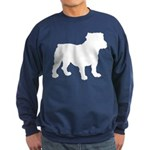 Bulldog Silhouette Sweatshirt (dark)