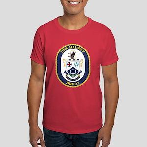 USS Halsey DDG 97 Black T-Shirt