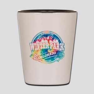Winter Park Old Circle Shot Glass