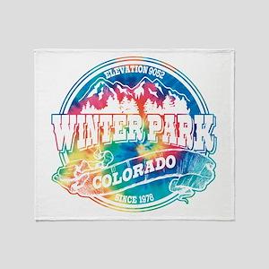 Winter Park Old Circle Throw Blanket