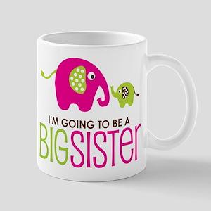 Elephant going to be a Big Sister Mug