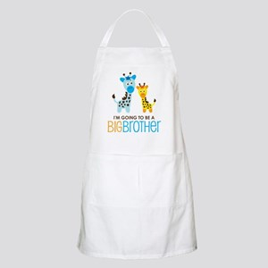 Giraffe going to be a Big Brother Apron