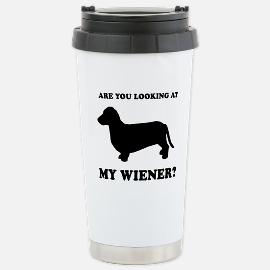 Are you looking at my wiener? Mugs