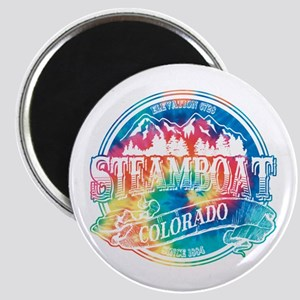 Steamboat Old Circle 3 Magnet