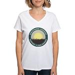 End Ethanol Subsidies Women's V-Neck T-Shirt