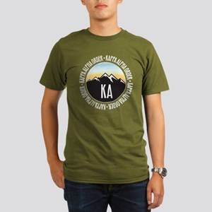 KAO Mountain Sunset Organic Men's T-Shirt (dark)