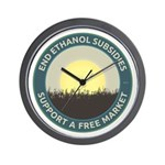 End Ethanol Subsidies Wall Clock