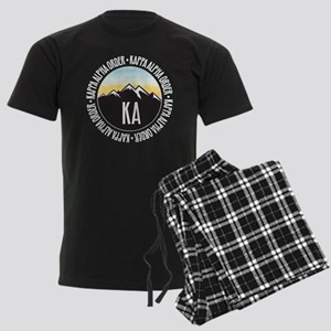 KAO Mountain Sunset Men's Dark Pajamas