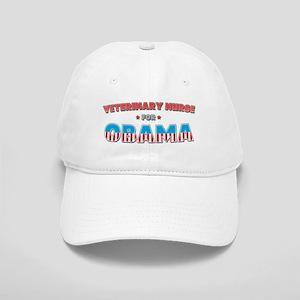 Veterinary Nurse For Obama Cap