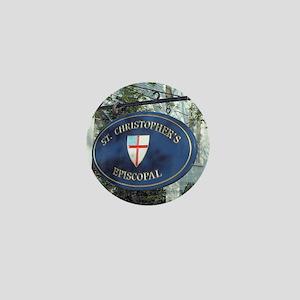 St Christopher's Episcopal Mini Button
