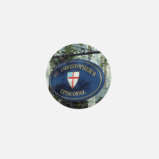 St Christopher's Episcopal Mini Button