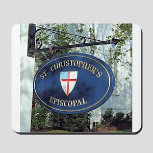 St Christopher's Episcopal Mousepad