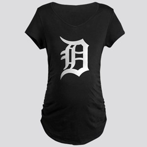 Detroit Maternity Dark T-Shirt
