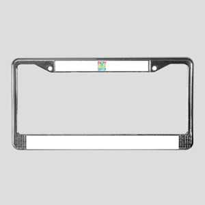 Shufflin License Plate Frame