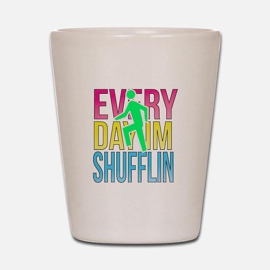 Shufflin Shot Glass