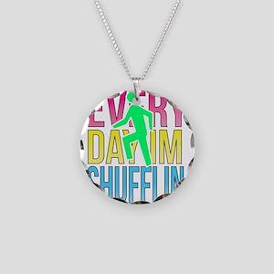 Shufflin Necklace Circle Charm