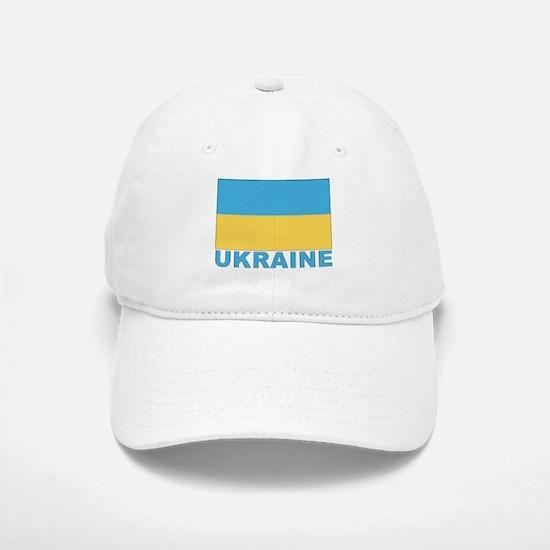 World Flag Ukraine Baseball Baseball Cap