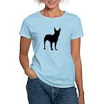 Bullterrier Silhouette Women's Light T-Shirt
