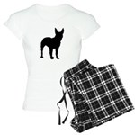 Christmas or Holiday Boxer Silhouette Women's Ligh
