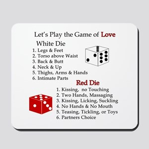 The Game of Love Mousepad