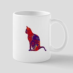 CAT DAZES ZU Mugs