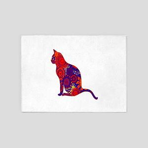 CAT DAZES ZU 5'x7'Area Rug