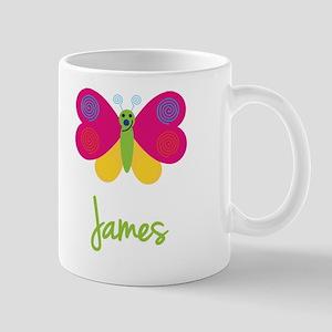 James The Butterfly Mug