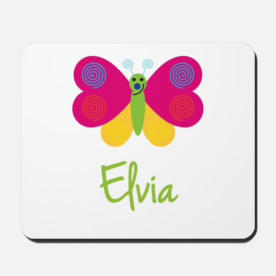Elvia The Butterfly Mousepad