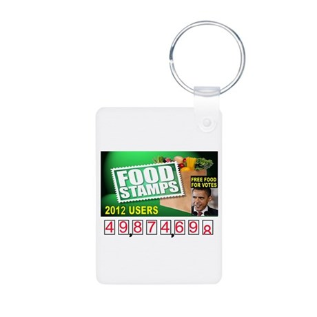 FREE FOR ALL Aluminum Photo Keychain