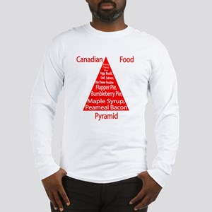 Canadian Food Pyramid Long Sleeve T-Shirt