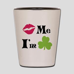 Kiss Me! Shot Glass