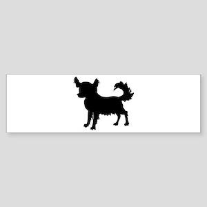 Chihuahua Silhouette Sticker (Bumper)
